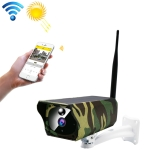 VESAFE VS-Y4 1080P HD Battery Solar WiFi IP Camera, Support PIR Motion Detection & Infrared Night Vision & TF Card(64GB Max)