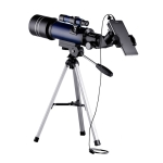 WR852-3 16x/66×70 High Definition High Times Astronomical Telescope with Tripod & Phone Fixing Clip & Moon Filter