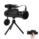 12X Portable High Definition Infrared Night Vision Monocular Telescope, Support Phone Photography / Video