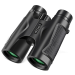 HTK-68-01 10×42 High Definition High Times Portable Binoculars Telescope for Outdoor (Black)
