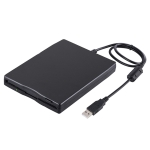 3.5 inch 1.44MB FDD Portable USB External Floppy Diskette Drive for Laptop, Desktop
