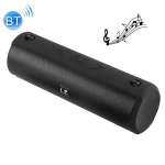 Portable Wireless Bluetooth 4.2 Speaker 10W Boombox Outdoor Sound Box Waterproof Computer Speaker FM Radio Column for xiaomi phone(Black)