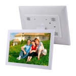 17 inch Multi-media Music & Movie Player Digital Photo Frame with Remote Control, Mstar V59 Program, Support USB / SD Card / HD Port, Built in Stereo Speaker(White)