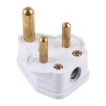 Power Plug Travel Power Adaptor, UK Plug(White)