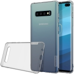 NILLKIN Nature TPU Transparent Soft Case for Galaxy S10+ (Grey)
