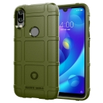Full Coverage Shockproof TPU Case for Xiaomi Mi Play (Army Green)