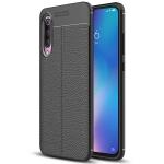 Litchi Texture TPU Protective Case for Xiaomi Mi 9 (Black)