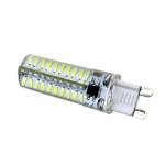 YWXLight G9 5W 80LEDs SMD 4014 Energy Saving LED Silicone Lamp (Cold White)