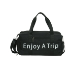Leisure Sport Handbag Shoulder Travel Bag (Color:Black Size: + L)