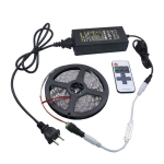 YWXLight Dimmable Light Strip Kit, 5m LED Ribbon, 11key Remote Control LED Strip Lamp 300LEDs US Plug (Green)
