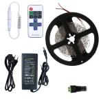 YWXLight Dimmable Light Strip Kit, 5m LED Ribbon, 11key Remote Control LED Strip Lamp 300LEDs EU Plug (Green)