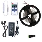 YWXLight Dimmable Light Strip Kit, 5m LED Ribbon, 11key Remote Control LED Strip Lamp 300LEDs UK Plug (Green)