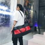 Single Shoulder Travel Bag Leisure Sport Handbag (Red)