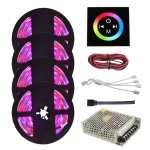 4 PCS YWXLight RGB LED Strip 20M 2835 LED Light Lamps Waterproof SMD RGB Lights LED Ribbon