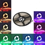 YWXLLight 5m 300LEDs 5050SMD RGB Waterproof  Brightness Flexible LED Light Bar Strip DC 12V
