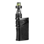 Uwell Ironfist 200W TC Box Kit with Crown 3, Standard Edition (Black)