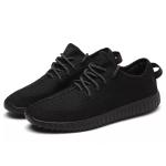 Breathable Canvas Shoes Low-top Shoes Sports Casual Shoes for Men (Color:Black Size:39)