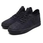 Fashion Suede Breathable Casual Plus Velvet Warm Shoes (Color:Black Size:39)