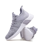 Youth Trend Outdoor Casual Sports Shoes for Men (Color:Grey Size:39)