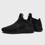 Flying Woven Cloth Breathable Low-top Shoes Sports Casual Shoes for Men (Color:Black Size:39)