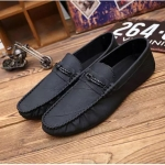 Lightweight and Comfortable Casual Peas shoes (Color:Black Size:39)