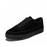 Classic Retro Casual Lace-up Fashion Boy Sport Shoes (Color:Black Size:39)