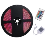 YWXLight 5M RGB 5050SMD Dimmable IP65 Waterproof Flexible Light Strip with 24 Keys Remote Control