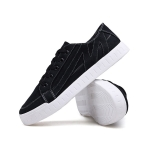 Round Head Outdoor Casual Shoes for Men (Color:Black Size:39)