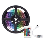 YWXLight 5m 300LEDs 5050SMD RGB Bare Strip Light with 24 Keys WiFi Remote Control