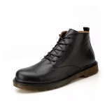 Retro Casual Lace-up Fashion Business Man Shoes (Color:Black Size:39)