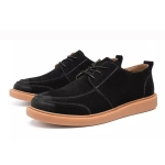Men Breathable Casual Wild Tide Shoes (Color:Black Size:38)