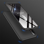 GKK Three Stage Splicing Full Coverage PC Case for Asus Zenfone Max Pro (M2) ZB631KL (Black)
