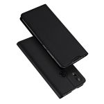 DUX DUCIS Skin Pro Series Horizontal Flip PU + TPU Leather Case for ASUS Zenfone Max Pro (M2) ZB631KL, with Holder & Card Slots (Black)