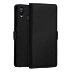 DZGOGO MILO Series PC + PU Horizontal Flip Leather Case for Asus Zenfone Max Pro, with Holder & Card Slot & Wallet (Black)