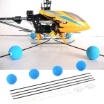 400 / 450 RC Remote Control Helicopter Blue Training Frame Aeromodelling Accessories