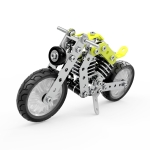 MoFun ZHIBO SW-002 158 PCS DIY Stainless Steel Halley Motorcycle Assembling Blocks