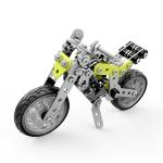 MoFun ZHIBO SW-003 188 PCS DIY Stainless Steel Street Motorcycle Assembling Blocks