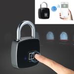 Anytek P3+ Against Theft Non-password Electrically Intelligent Fingerprint Padlock, Support APP Unlock