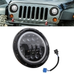7 Inch 40W 4500LM 6000K + 3000K 8 LED Car Truck Off-road Vehicle Circular LED Angel Eye Herdsman Lamp Headlights Work Lights Spotlight