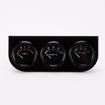 52mm 3 in 1 Auto Gauge Car Meter Voltmeter + Water Temp Gauge + Oil press Gauge