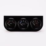 52mm 3 in 1 Auto Gauge Car Meter Voltmeter + Water Temp Gauge + Oil press Gauge