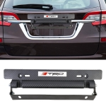 TRD Universal Car License Holder Number Plate Frame Adjustable License Plate Holder