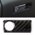 Car Carbon Fiber Front Passenger Seat Storage Box Decorative Sticker for Mercedes-Benz C-Class