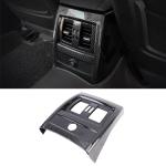 Car Carbon Fiber Texture Rear Air Vents Cover Decorative Sticker for BMW 3 Series