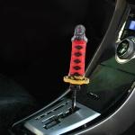 Universal Car Mask Leader Shape Metal Gear Shift Knob Modified Car Auto Transmission Shift Lever Knob
