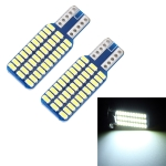 2 PCS T10 / W5W / 168 / 194 DC12V 1.2W 6000K 80LM 33LEDs SMD-3014 Car Reading Lamp Clearance Light, with Decoder