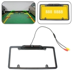 PZ422 America Car License Plate Frame 120 Degree Rear View Camera