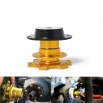Universal Aluminum Car Steering Wheel Quick Release HUB Racing Adapter Snap Off Boss Kit
