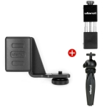 Mobile Phone Bracket + Expansion Bracket + Tripod for DJI OSMO Pocket (Black)