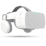 BOBO X6 5.5 inch Virtual Reality Glasses Headset Private Cinema Glasses Helmet, Andriod 7.1, Allwinner VR9 Quad Core 1.8GHz, 2GB+16GB, Support OTG, WiFi, Bluetooth(White)